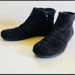 Bussola Coimbra Suede Bootie Ankle Boots sz 38